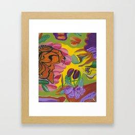 Ms Monarch Framed Art Print