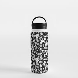 Black Bougainvillea Water Bottle