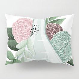 Floral Erlenmeyer Flask Pillow Sham