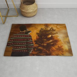 Clark Griswold, Squirrel and The Christmas Tree On Fire Rug