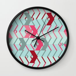 ArrowZigZag Wall Clock