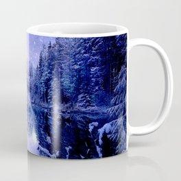 Lavender Winter Wonderland : A Cold Winter's Night Coffee Mug