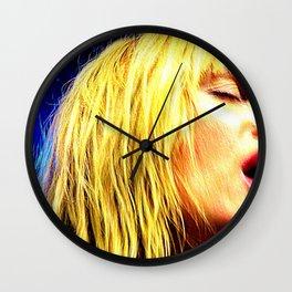 Wild Gracie Wall Clock