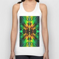 neon Tank Tops featuring Neon by Assiyam