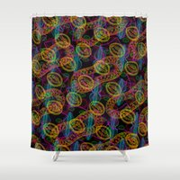"""army Shower Curtains featuring """"Diatoms army"""" by PADMA DESIGNS PR"""