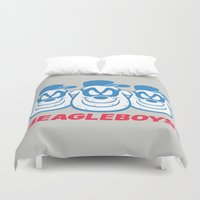boys Duvet Covers featuring Beagle Boys by thom2maro