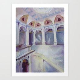 Cantor Arts Center Art Print