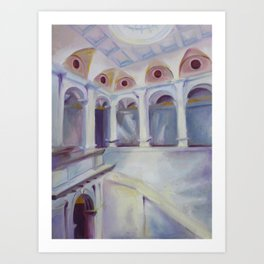 Cantor Arts Center Art Print