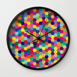 Geometric Pattern #3 Wall Clock