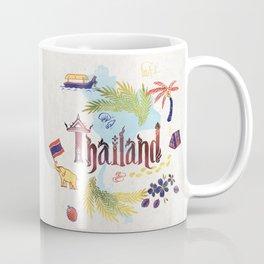 Drawings from Thailand Coffee Mug