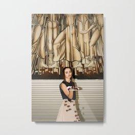 Cheri, Cheri Lady Metal Print