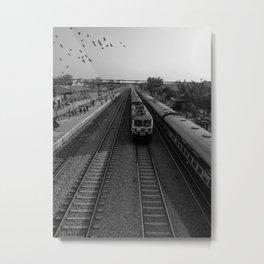The train Metal Print