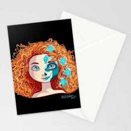 Sugar Skull Series: Archery Princess Stationery Cards
