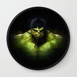 Hulk Wall Clock