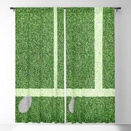 """""""IN"""" – Hawk-Eye - green Blackout Curtain"""