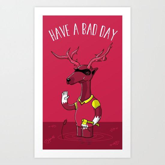 Bad Horacio Art Print