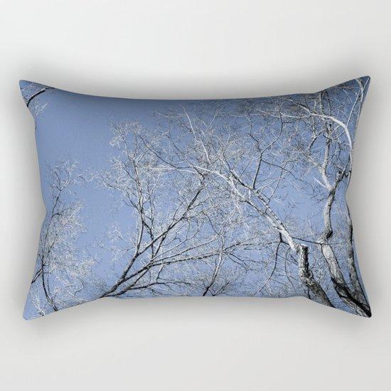 Landscape in the winter - 2 Rectangular Pillow