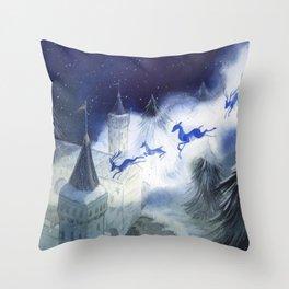 December's Tale Throw Pillow