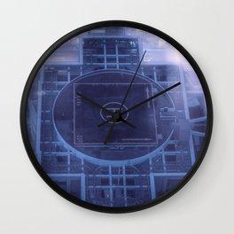 Prepare for landing Wall Clock