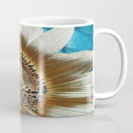 Cream Colored Sunflower Coffee Mug