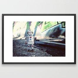 Still Gettin It Framed Art Print