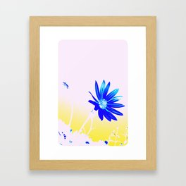 Hey Blu Framed Art Print