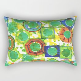 Green Core Qualities Rectangular Pillow