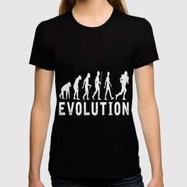 American football Evolution T-Shirt T-shirt