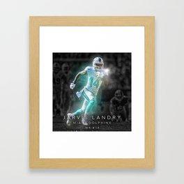 Jarvis Landry Framed Art Print