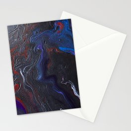 Dark Marble Stationery Cards