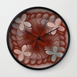 Butterfly flight Wall Clock
