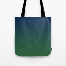Blue-green Ombre Tote Bag