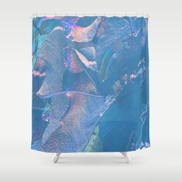 Holographic Artwork No 5 (Crystal) Shower Curtain