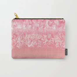 Coral Storm Carry-All Pouch