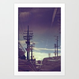 Reflection - Downtown Los Angeles #40 Art Print