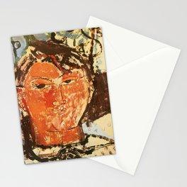 "Amedeo Modigliani ""Portrait of Pablo Picasso"" Stationery Cards"