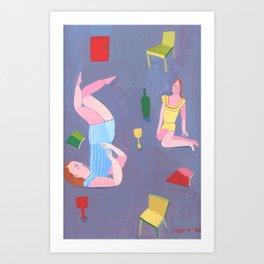 Pijamas Art Print