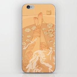 Flower Bath 10 (uncensored version) iPhone Skin