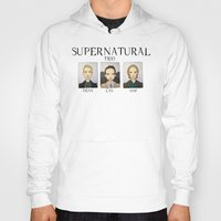 supernatural Hoodies featuring SUPERNATURAL by Space Bat designs