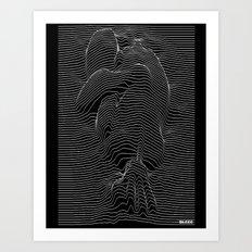 joy joy division Art Print