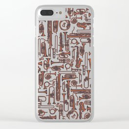 Horns COPPER Clear iPhone Case