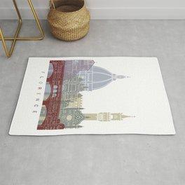 Florence V2 skyline poster Rug
