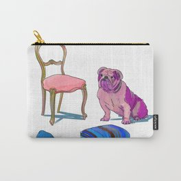 animals with chairs #2 Socializing Carry-All Pouch