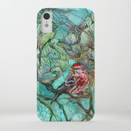 The Aquamarine Labyrinth (detail no. 2) iPhone Case