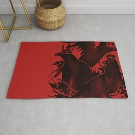 Crowned Crows Rug