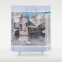 ohio Shower Curtains featuring Ohio by Ursula Rodgers