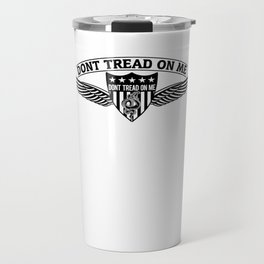 Don't Tread On Me Badge Wings Travel Mug