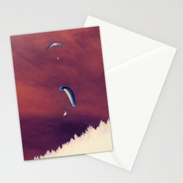 The flight Stationery Cards