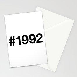 1992 Stationery Cards