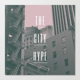 The City Hype 2 Canvas Print